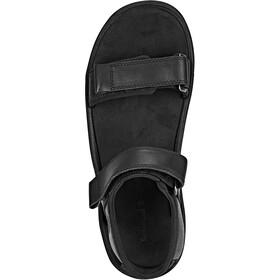 Timberland Roslindale 2-Strap Sandals Men Black Full-Grain